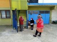 ASDEP ekipleri Yığılca'da hane ziyareti yaptı