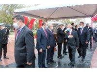 Yalova'da korona önlemli tören