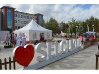Selçuklu'da, Çanakkale temalı kan bağışı