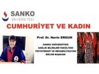 Cumhuriyet Bayramı SANKO Üniversitesinde online kutlandı