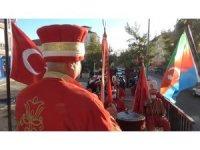 Kırıkkale'de gezici mehter takımı konser verdi