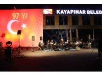Diyarbakır'da Cumhuriyet'in 97. yıl dönümü konseri