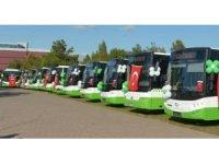 Bursa'da toplu ulaşımda 'bayrağa saygı' uygulaması