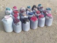 Elazığ'da 1 tondan fazla kaçak içki ele geçirildi