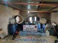 Hatay'da 2 bin 730 litre sahte rakı ele geçirildi