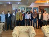 MHP Yeşilhisar İlçe Teşkilatından İl Başkanı Serkan Tok'a hayırlı olsun ziyareti