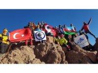 29 Ekim Cumhuriyet Bayramı Erciyes zirve tırmanışı yapıldı