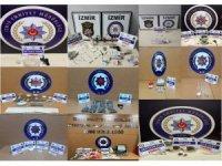 Uyuşturucu operasyonlarında 52 gözaltı