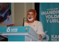 AK Parti Fatsa 6. Olağan Kadın Kolları Kongresi yapıldı