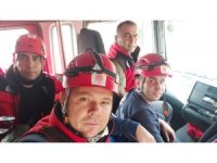 Balıkesir itfaiyesi yaraları sarmak için İzmir'e hareket etti