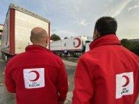 Düzce'den Kızılay ekipleri yola çıktı