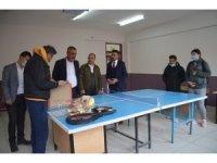 Gençlik Spor İlçe Müdürü Güzel, Köy okulunu ziyaret etti