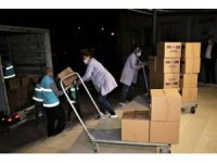 Deprem bölgesi Elazığ'dan İzmir'e yardım