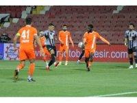 TFF 1. Lig: Balıkesirspor: 0 - Adanaspor: 2 (İlk yarı)