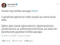 """Milli Eğitim Bakanı Selçuk, """"İl genelinde eğitime bir hafta süreyle ara verme kararı aldık"""""""