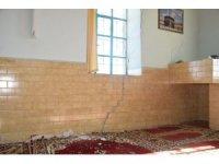 Çan Küçüktepe Köyü camiinde hasar tespiti yapıldı