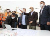 Mardin Valisi Demirtaş kentte devam eden çalışmaları inceledi