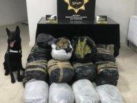 Uyuşturucu operasyonunda 135 kilogram esrar ele geçirildi