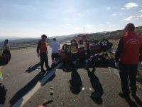 Balıkesir'de otobanda trafik kazası 1 ölü