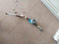 Malatya'daki depremde hasar gören evde hırsızlık