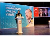 AK Parti Efeler İlçe Kadın Kolları Başkanı Ege, güven tazeledi