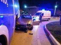 Çan'da trafik kazası: 1 yaralı