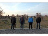 MHP Aydın İl Başkanı Haluk Alıcık Ahlat'ı ziyaret etti