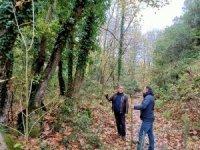Başkan Erdoğan, trekking yolunu inceledi