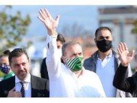 Bursaspor Kulübü Başkanı Erkan Kamat, yayın krizinin çözüldüğünü açıkladı