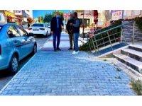 Başkan Atabay, ilçedeki çalışmaları yerinde denetledi