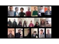 Müzik bölümü öğrencilerinden Öğretmenler Gününe özel klip