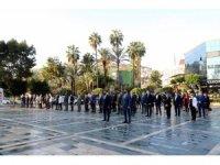 Alanya'da Öğretmenler Günü korona gölgesinde kutlandı