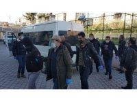 Samsun'da cinayet şüphelileri ile ilgili 9 kişi adliyeye sevk edildi