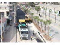 Karacailyas'ta alt yapı ve üst yapı çalışmaları birlikte yürüyor
