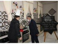 Başkan Büyükkılıç, kursiyerlere gilaborunun faydalarını anlattı