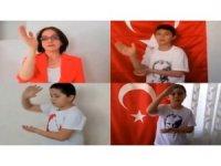 Burdur'da Öğretmenler Günü Çelenk Töreni ve E-Tören'le kutlandı