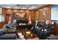 Trabzon'dan Giresun Emniyet Müdürlüğü'ne nezaket ziyareti