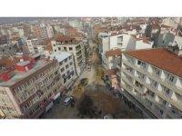 Zağnos Paşa Meydanı düzenlemesinde ilk adım altyapı