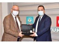 Başkan Ergün ve Dutlulu Akhisar'ın projelerini konuştu