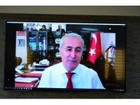 """Bakan Yardımcısı Safran ile """"Öğretmenler Günü Buluşması"""" VKS üzerinden gerçekleştirildi"""