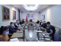 Bakan Soylu başkanlığında koronavirüs toplantısı