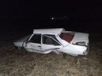 Diyarbakır'da otomobil takla attı: 3 yaralı