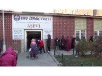 """Erzurum'da """"Üşüyen Çocuk Kalmasın"""" kampanyası kapsamında 2 bin çocuğa bot ve mont desteği verildi"""
