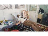 Karlıova'da kan bağışı kampanyası
