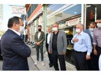 Başkan Demir, halkla iç içe