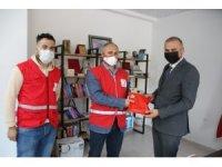 Kızılay Başkanı Yonat'tan Müdür Süne'ye ziyaret
