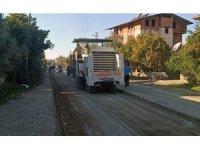 Fethiye Esenköy yolu asfaltlanıyor
