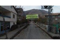 Sosyal Mahallesi sakinlerinden Başkan Geylani'ye teşekkür pankartı