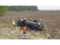 Hatay'da cenaze yolunda kaza: 9 yaralı