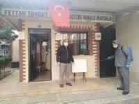 Salihli Belediyesi muhtarlık binalarını ilaçladı
